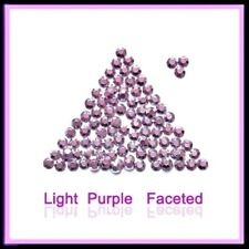 WholeSale LT Purple Hotfix Rhinestuds faceted 2,3,4mm