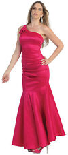 SALE STRETCHY FORMAL BRIDESMAID EVENING DRESS MERMAID & PLUS SIZE GOWN UNDER 100