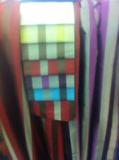 latest FURNISHING STRIPE FABRIC  free P&P  new colours