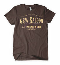 GEM SALOON T-shirt deadwood swearingen western NEW