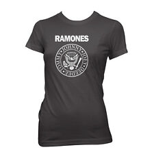 RAMONES PRESIDENTIAL SEAL T-shirt Punk Rock WOMENS