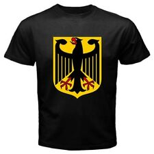 Germany Coat of Arms Black T-Shirt S,M,L,XL,2XL,3XL