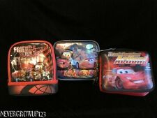 DISNEY CARS INSULATED LUNCHBOX~LIGHTNING MCQUEEN~NWT