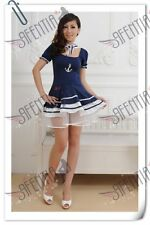 Sexy Sailor Costume FF1255 Party Dress Nave Blue