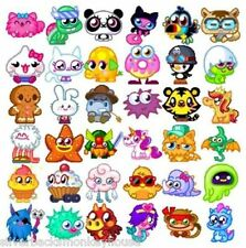 Moshi Monsters Moshling Code Card (L-Z) Choose which one(s) you want!  FREE P&P!