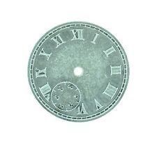 Antique Silver Roman Numeral Watch Face Steampunk Style 1pcs or 5pcs (010)