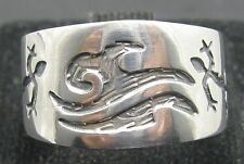 STERLING SILVER RING SOLID 925 MEXICAN STYLE GECKO NEW SIZE 7 - 13
