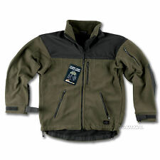 HELIKON CLASSIC ARMY FLEECE MENS TACTICAL MILITARY JACKET OLIVE/ BLACK ALL SIZES