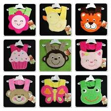 New/NWT~CARTERS~baby BIBS~Cotton TERRY~BOYS & GIRLS~UNISEX~ANIMAL~NEWBORN+Reborn