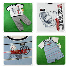 New/NWT~Carters~Baseball~Short Romper &/or Pants+ T-Shirt~Sports~ 18 & 24 Rookie
