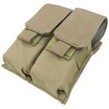 Condor MA4 MOLLE Double 5.56/.223 Magazine Pouch Holds 2 - 4 30 Round Mags ~ NIP