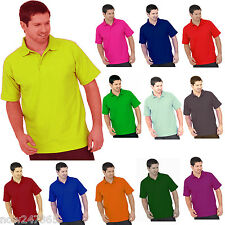 5 x Mens Boys Polo T Shirts Pique Sports Work Size XS - 4XL  Free UK Delivery