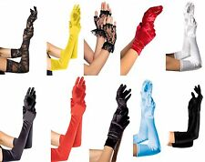 NEW DELUXE BURLESQUE MOULIN ROUGE EXOTIC GLOVES - DANCE, COSTUME