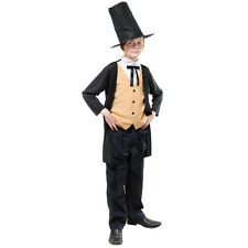 VICTORIAN GENT BRUNEL CHILD EDWARDIAN FANCY DRESS COSTUME ALL AGES