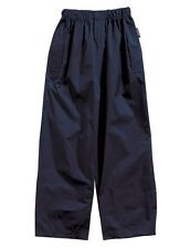Regatta Packaway Trousers - Navy Blue Suitable for Girls and Boys Packs away