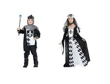 CHESS #KING OR QUEEN CHILD BOY / GIRL FAIRY TALES FANCY DRESS COSTUME ALL SIZES