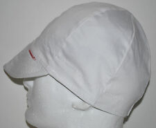 NWT Welding Cap Welders Hat Comeaux Caps Solid White Reversible 2000 Sized