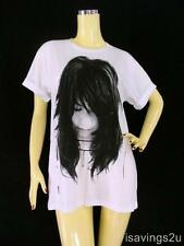 BJORK T-shirt, Electro ROCK Indie ART Pop White COTTON S M & L Unisex, Music