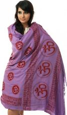 ASSORTED Hindu Meditation Prayer Shawls Wraps Scarf Stole Tapestry Wall Hanging