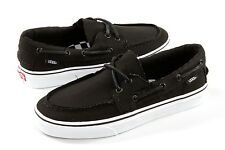VANS ZAPATO DEL BARCO Black White Core Class Boat shoe VN OXC36BT Men