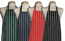 3 - 5 yrs Child Butcher Stripe Apron ** PVC and Cotton ** All made in UK