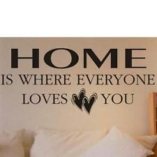 Home is where everyone loves you wallart Q7
