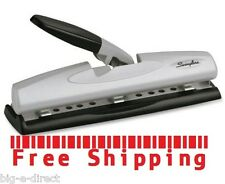 Office & Home 2 - 3 Hole Paper Punch Swingline Light Touch Commercial Heavy Duty