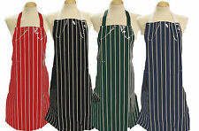 Small Adult / Teenager PVC Apron * Butchers Stripe * BN and British Made