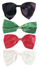 BLACK RED FORMAL NOVELTY BOW TIE GENTLEMAN CLOWN COSTUME BOWTIE BOW TIE