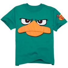 NWT Disney Store Phineas and Ferb Perry Platypus Tee Agent P T-Shirt NEW Boys XL