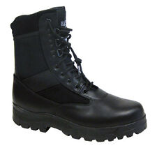 MENS POLICE ARMY COMBAT WORK COMMANDO ASSAULT BOOTS BLACK NORTHWEST fab111
