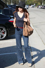 Celeb Fave $218 J Brand Bette High-Rise Wide Leg Flare Trouser Jeans Mystery 26