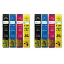 8 Ink Cartridges non-OEM to replace T1281 T1282 T1283 T1284 (T1285) Compatible