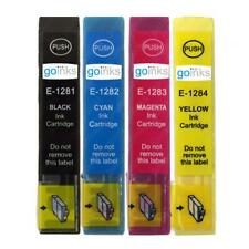 4 Ink Cartridges non-OEM to replace T1281 T1282 T1283 T1284 (T1285) Compatible