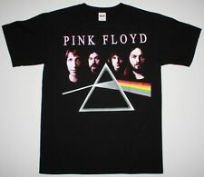 PINK FLOYD THE DARK SIDE OF THE MOON BAND ROGER WATERS GILMOUR NEW BLACK T-SHIRT