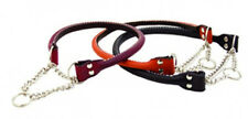 Auburn Leathercrafters QUALITY Rolled Leather Martingale Dog Collars 9 SIZES