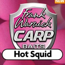 NEW FRANK WARWICK Hot Squid Fluoro Hookbaits ALL SHAPES/SIZES CHEAP FAST POSTAGE