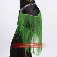 New Belly Dance Costume Hip Scarf Belt 7Colours Avail.