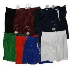 Foottball Rugby Sports PE Shorts Shadow Stripes Childrens and Adults FREE POST