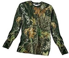 Mossy Oak Break Up Mens Long Sleeve Dri Wick Fit Camo LS t shirt Small Medium