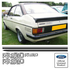 Ford Escort Mk2 RS2000 Stripe Kit Decals Stickers RS 2000 Stripes