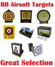 BB AIRSOFT TARGETS Sticky Shooting Pellets 6mm Gun Pistol Rifle MULTIPLE DESIGNS