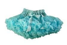 TURQUOISE pettiskirt tutu in sizes 1-12 years over 40 meters of chiffon