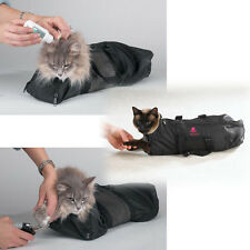 Top Performance Cat Grooming Bags 3 SIZES! Bathing, Dental Care, Nail Trimming