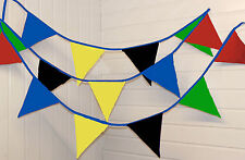 ** Summer games Bunting ** 5 and 10 Metres * Union Jack / Wedding / Festival