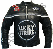 LUCKY STRIKE New Black Leather Jacket - All sizes!
