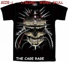 "WIRED SKULL - T-SHIRT - THE MOUNTAIN  SKULBONE - ""L"" - 1/SIDED - NEW*"