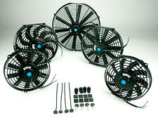 "12V Electric Radiator Cooling Fan Push/Pull Universal 7"" 9"" 10"" 12"" 14"" 16"""