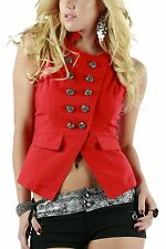 AFTERPINK BUTTON DOWN VEST