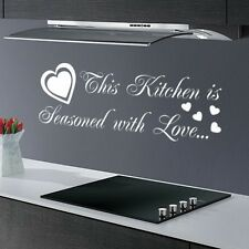 FUNNY KITCHEN SALON BEDROOM DINING ROOM QUOTE SAYING WALL DECAL STICKER VINYL
